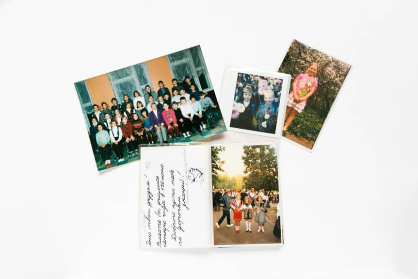 школьные фотографии