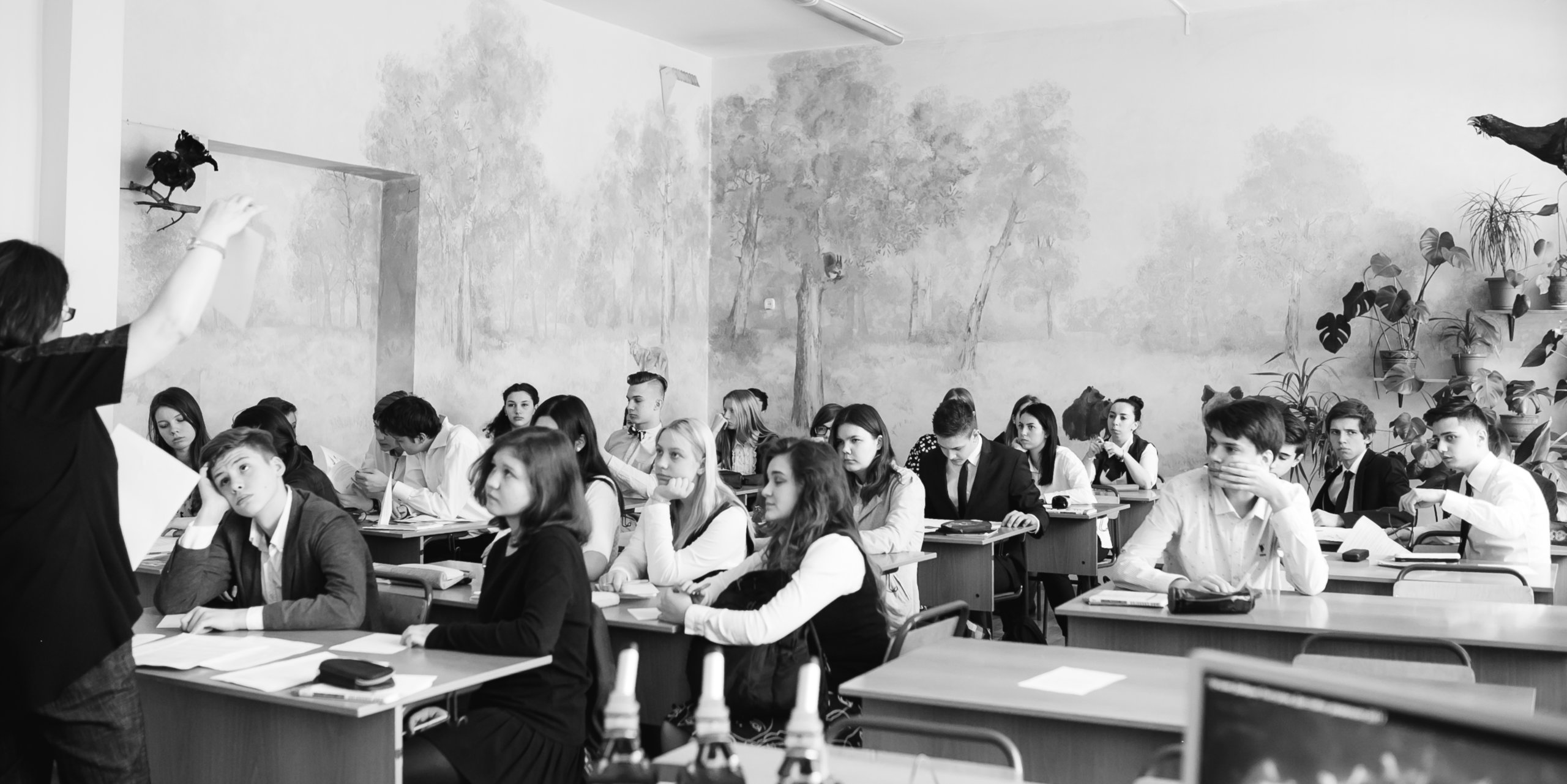 современная школьная фотография