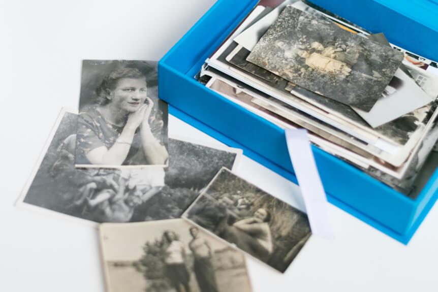 Хранение архивных фотографий