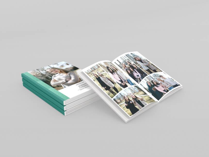 школьный альбом комбинированная обложка
